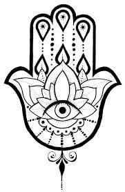 A Hamsa tattoo design I created. Hamsa Hand Tattoo, Tatoo Henna, Hamsa Art, Small Hamsa Tattoo, Lotus Tattoo, Ganesh Tattoo, Tiny Tattoo, Hamsa Design, Hamsa Tattoo Design