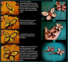 Kanzashi Butterfly Tutorial