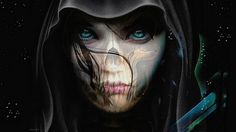 Awesome Goth People | Wallpaper dead girl fantasy