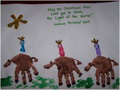 pinterest christmas kindergarten art class | My Top 10 Favorite Christmas Crafts made with hands & feet from around ...