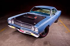 02 1969 Plymouth Road Runner A12 B5 Blue