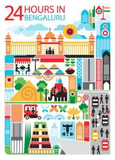lovely portrait of Bangalore!