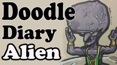 Doodle Diary: Alien