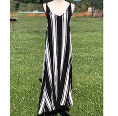 80a384c7b NWT Rip Curl Black Your Love Stripe Maxi Dress - M