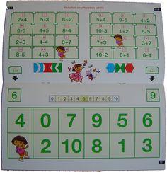 Mini Loco rekenen Dora getallen tot 10