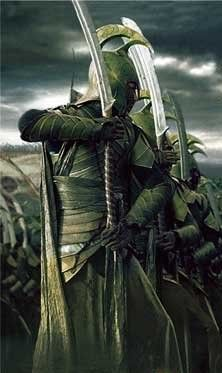 High elven swords and armor repinned by www.BlickeDeeler.de  (Straight out of LOTR?)