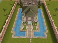 House 32 full view (front) #sims #simsfreeplay #simshousedesign