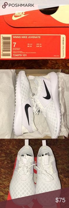 New Nike Juvenate Brand new, never worn. I have a duplicate pair, comfy and fashionable Nike Shoes Sneakers