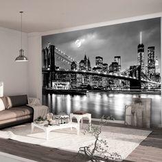 Fototapete New York - Manhattan Dawn - Vliestapete Breit | Manhattan ...