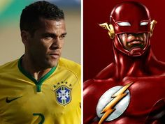 Daniel Alves - The Flash Super Herói