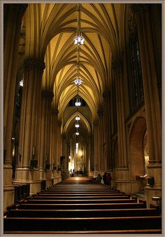 St. Patrick's Catholic Cathedral, New York...I can go over and over again!!