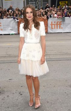 Keira Knightley-Toronto film fest 2014. She is just stunning