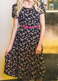 Darcy floral dress