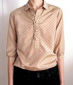 vain and vapid blouse