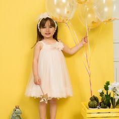 Βαπτιστικό Φόρεμα Σομόν Mi Chiamo K4290 Girls Dresses, Flower Girl Dresses, Christening, Girl Outfits, Wedding Dresses, Clothes, Fashion, Dresses Of Girls, Baby Clothes Girl