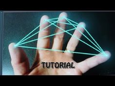 Tutorial - How to create Finger Beams, w Mocha Tracking - After Effects - YouTube