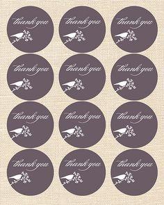 freebie friday: envelope seals & favor tags