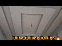 Bedroom pop Designs - YouTube Simple False Ceiling Design, House Ceiling Design, House Design, Bedroom Pop Design, Bedroom Simple, Home Decor, Decoration Home, Casual Bedroom, Room Decor