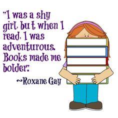 books made me bolder
