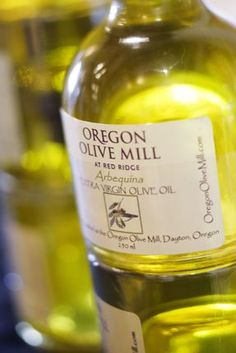 Thanks @Plate & Pitchfork.  Oregon Olive Mill. You can find their Olive Oil at all our dinners!