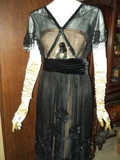 My Pretty Baby Cried She Was a Bird: Bellasoiree on Etsy (Antique Clothes 1900-1920)