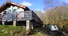 Loch Tay Waterfall Holiday Lodge near Killin