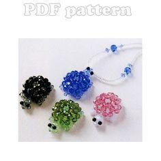 3D Turtle Mascot Beading Pattern PDF | CraftyLine e-pattern shop