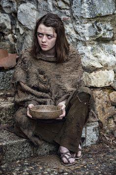Arya Stark in Season 6.