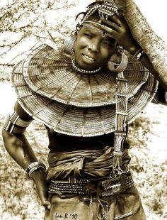 Africa | Pokot Woman.  Kenya | © Ian ~ Mozambique Moments