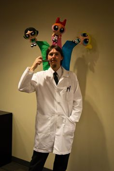 Professor Utonium from Powerpuff Girls! I. LOVE. THIS. SO. MUCH.