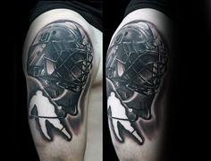 75 Hockey Tattoos For Men