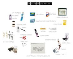 In Case Of Emergency by toukotakku on Polyvore   #emergency #emergencykit #incaseofemergency #useful #necessities #usefulstuff #products #essentials #everydayessentials #kitforwoman #emergencykitforwoman #sos