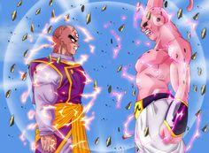 Mystic Tenshinhan vs Super Buu