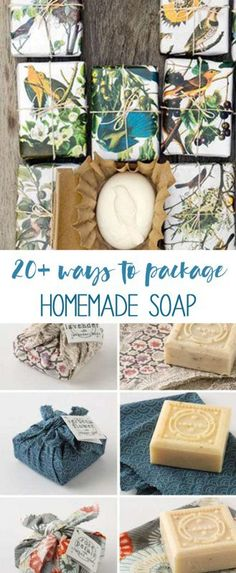 easy ways to package homemade soap
