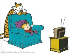 Calvin and Hobbes, TV gif