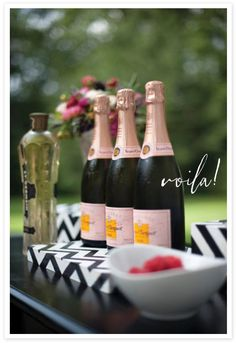 30th Birthday champagne