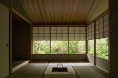 帝塚山のセミコートハウス 横内敏人建築設計事務所