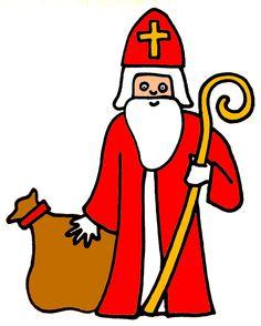 Liedbundel, Zing mee voor Sint, Piet en Paard : Wie komt er alle jaren Daar weer uit Spanje varen? Over de grote, grote zee Dat is Sinterklaas, hoezee! ...
