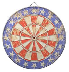 Select from a variety of Red White And Blue dart boards or create your own! Our dartboards come with 6 darts. Diana, Blue Dart, Custom Dart Board, Blue Flag, Print Finishes, Darts, Usa Flag, Fourth Of July, American Flag