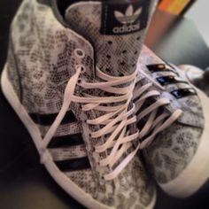 Adidas wedge sneakers!