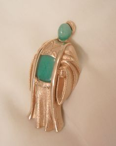 Always something exciting in store many items on sale from 10 to 60% off Beautiful Asian man figural Peking glass Brooch