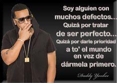 Imagen con frases (Daddy Yankee) - 100 Recursos
