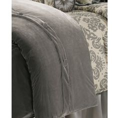 Buy HiEnd Accents Kerrington 1 Piece Velvet Duvet Cover - King from National Furniture Supply at lowest price and great service. Duvet Bedding, King Duvet, Queen Duvet, Duvet Sets, Duvet Cover Sets, Velvet Duvet, Luxury Bedding Sets, Cotton Duvet, Cool Beds