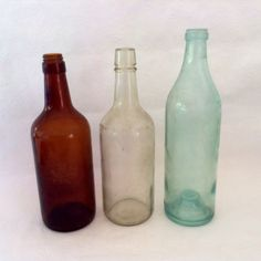 Federal Law Bottles - Law Prohibits Sale or Re-Use - Prohibition Bottles - collectible - Hawaiian Antique - Rustic Decor - Shabby Bottles by TheWhatNaught on Etsy