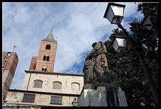 Albenga - primavera - photographic processing (293) - fotografia primaverile scattata ad Albenga nella piazza a lato della Cattedrale ...