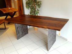 eicheholz glas metallf sse tische tisch table pinterest tisch und glas. Black Bedroom Furniture Sets. Home Design Ideas