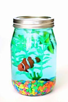DIY Mason Jar Aquarium by MichaelsMakers Design Dazzle