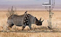 rohan sharad dahotre dresses animals with tribal doodles shared via https://chrome.google.com/webstore/detail/design-hunt/ilfjbjodkleebapojmdfeegaccmcjmkd?ref=pinterest