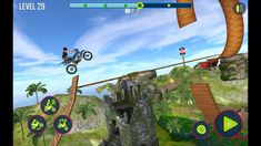 Bike Stunt Tricks Master 3D Racing Android Gameply #3 Motorbike Game, 3d Racing, Stunts, Channel, Android, Waterfalls
