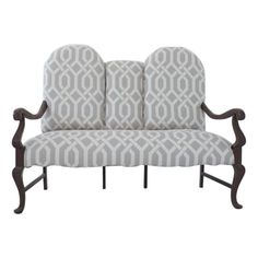 Newly Upholstered Vintage Love Seat - $1,200 Est. Retail - $900 on Chairish.com